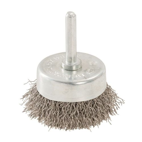 Silverline 529311 Rotary Stainless Steel Wire Cup Brush 50mm